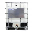 275 Gallon IBC Plastic / Poly Tote, Food Grade (New Bottle / Reconditioned Metal Cage)