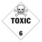 Toxic Substances Placard, Package of 25