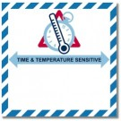 New Time and Temperature Sensitive IATA Labels (4 Color)