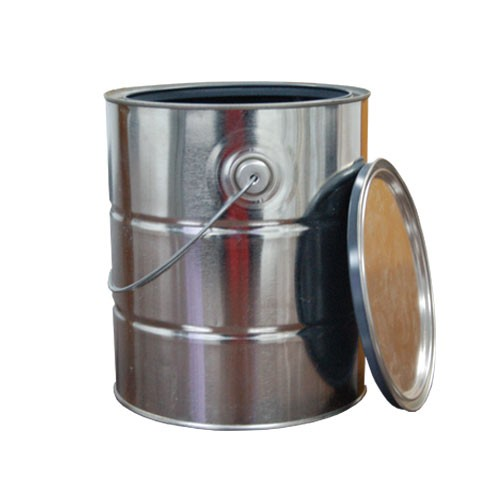 1 Gallon Epoxy Lined Metal Paint Can with Lid