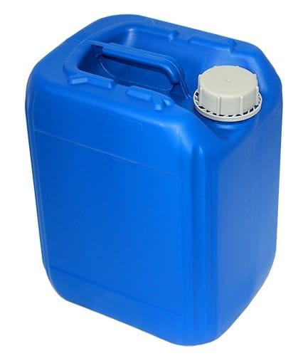 10L / 2.64 G HDPE Jerrican (Blue)