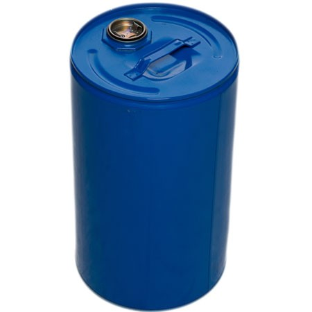 6.6 Gallon / 25 Liter Tight Head UN Rated Steel Drum Epoxy Lined