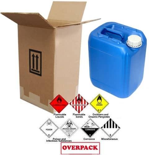10 Liter (2.64 Gallon) Jerrican / Jug Overpack Kit - 3H1/Y