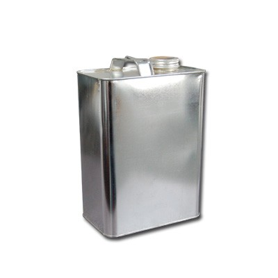 """1 Gallon F-Style Metal Oblong Can (1.25"""" Opening)"""