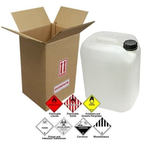20 Liter (5.28 Gallon) (Natural) Jerrican / Jug Overpack Kit - 3H1/Y