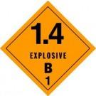 Explosives 1.4B Label