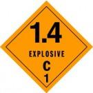 Explosives 1.4C Label