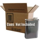 6 x 1 Quart F-Style Metal Can Kit-(Box and Partition Only) (4G/Y11.4)