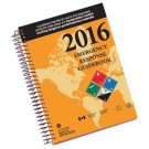 2016 Emergency Response Guidebook (ERG), Spiral Bound