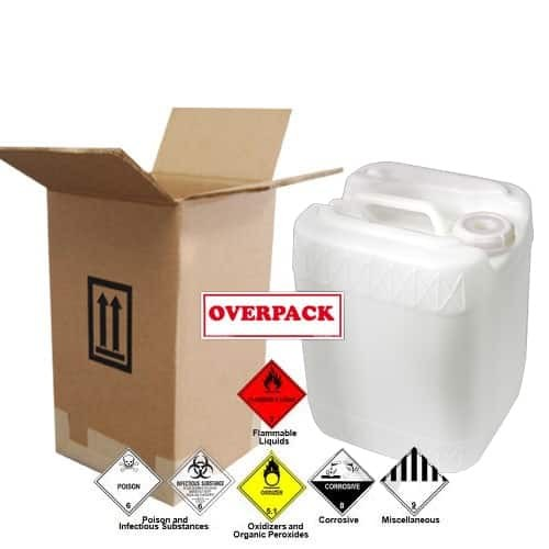 19 Liter (5 Gallon) Jerrican / Jug Overpack Kit - 3H1/Y