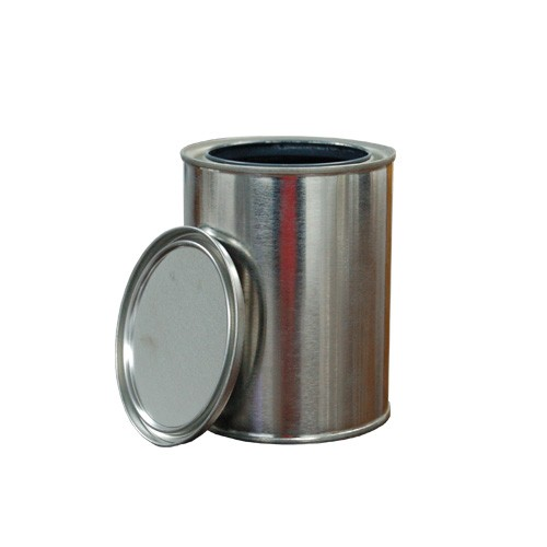1 Quart Epoxy Lined Metal Paint Can with Lid