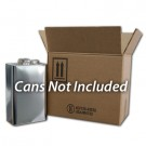 4 x 1 Gallon F-Style Metal Can Box and Partition ONLY (4G/Y26.4)