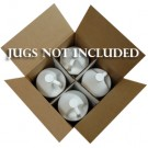 4 x 1 Gallon Plastic Jug Box w/ Partitions Only (4G/Y24.4)