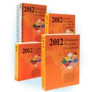 "2012 Emergency Response Guidebook (ERG), Spiral Bound, Regular size, 5½""×7½"""