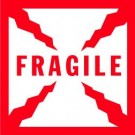 Fragile Label, Roll of 500