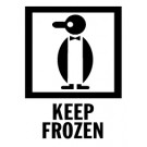 Keep Frozen Labels, Roll of 500