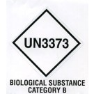 Biological Substance Category B, Roll of 500